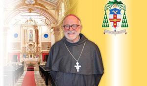 The Most Reverend Friar Martin Kmetec OFM Conv.